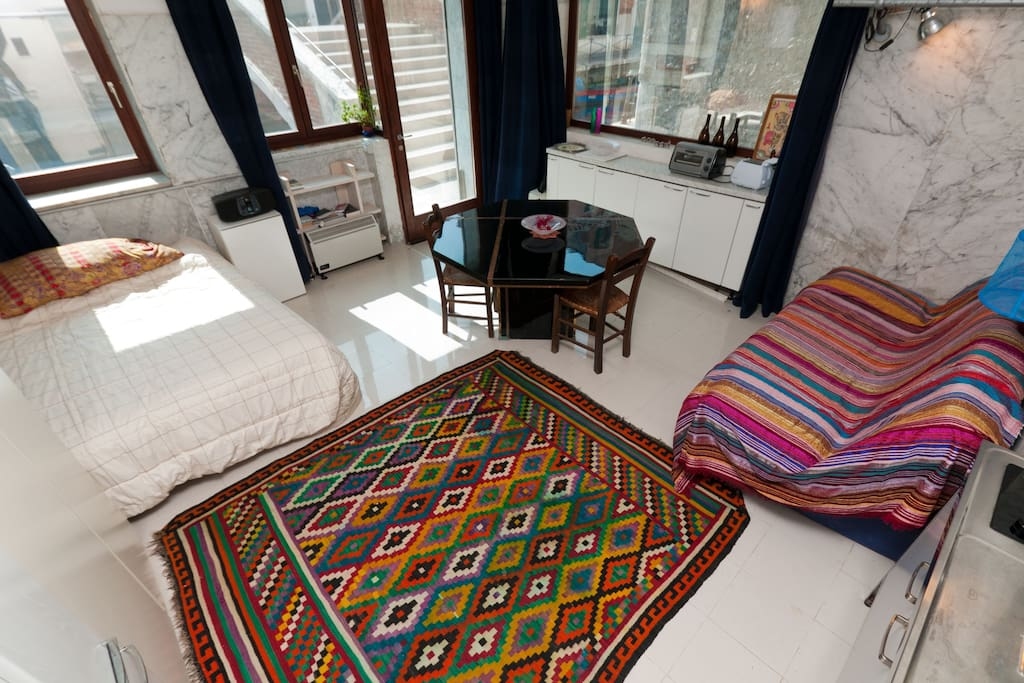 Kilim rug from Tunisia...one of a kind!