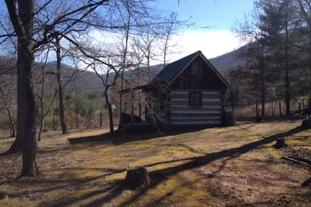 Amish Cabin with views from 1860's - Swannanoa - Cabane