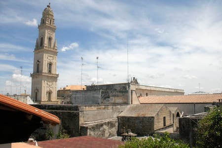Mansarda sui tetti di Lecce antica