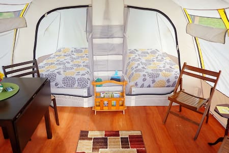 FundyRidge: (A) Glamping in Style - Tent