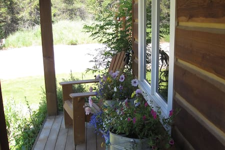 Cosy Log Home Bedroom,Private Bath - Whitefish - Casa