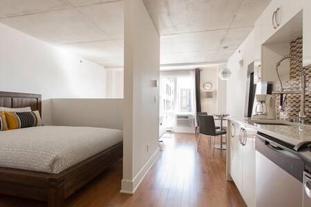 Condo neuf et luxueux Loft