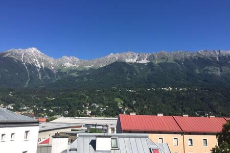 Moderne Wohnung mit Blick auf die Nordkette - Innsbruck - Apartment