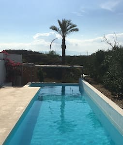 Two rooms in house with fab pool - Tabernas  - Casa