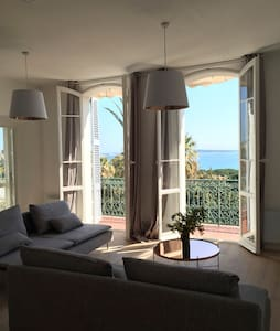 Seaview 75m2 Large 1 Bdr Apartment - Cannes - Apartment