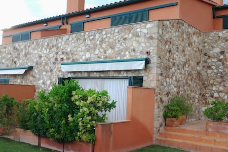 Casa apareada con piscina - Cassavells (Corçà) - Reihenhaus