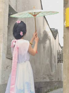 平江路雨巷里花藤下有油纸伞和手作的江南小家 - Suzhou - Maison