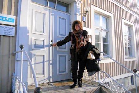 Bo charmigt mitt i Växjö centrum ! - Loft