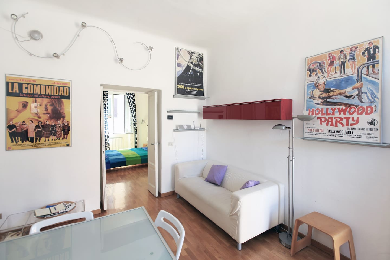 Quiet apartment in Porta Romana