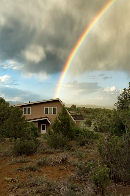 A peaceful night's sleep--away from the hustle & bustle of traffic--is like finding a pot of gold at the end of a rainbow…Z…Z…Z