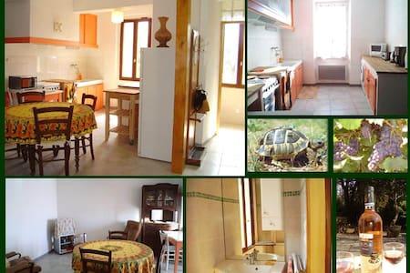 Appart village provençal lumineux - Gonfaron
