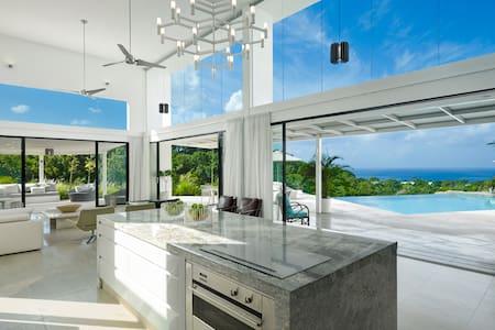 Luxury modern Caribbean villa - Willa