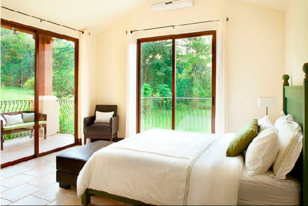 Green Bedroom - First Floor