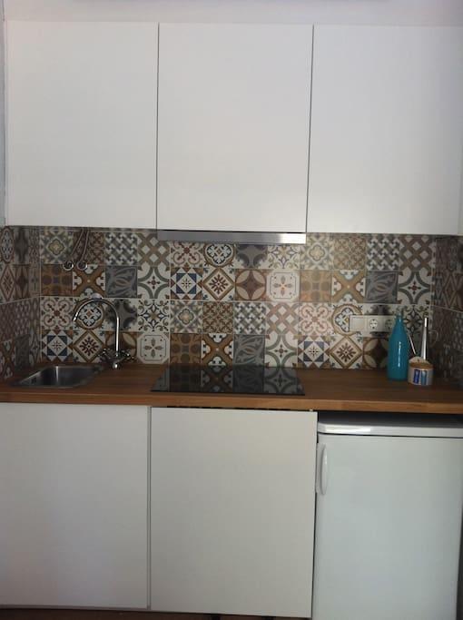 the kitchen...office