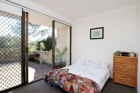 Sydney Double Room 1 stop to city - Neutral Bay - Wohnung