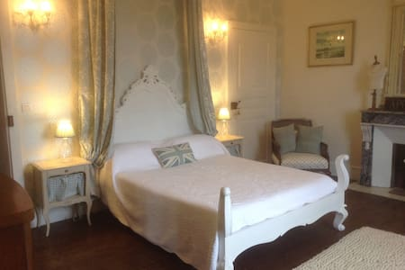 Louis Blue Suite - Chateau La Roussille - Bed & Breakfast