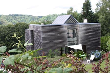 Maison contemporaine dans le Cantal