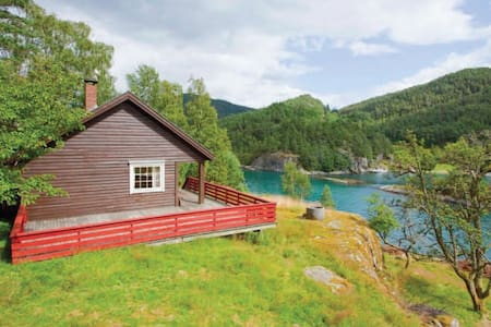 Charming hut by the fjord! - Suldal - Chalet