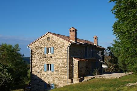 Stone house with Sauna ROSSO - Grožnjan - Leilighet
