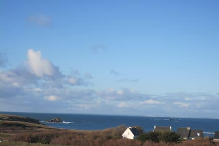 belle vue mer plage et Côte sauvage - Hus