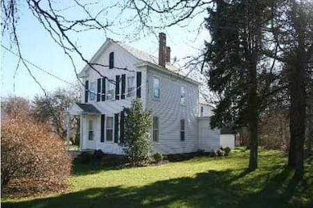 Charming historic farmhouse - East Marion - Lejlighed