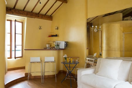 Fantastic studio at Ile Saint Louis - Parigi - Appartamento