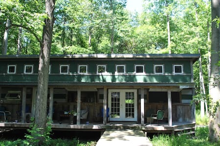 Floyd's  Cabin  Lakeside Mich - Chikaming Township - 통나무집