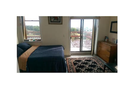 Sun-Splashed Penthouse Bedroom in Park Slope - Brooklyn - Apartment