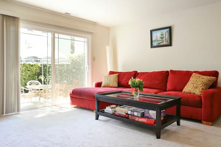 Sunny Bedroom in Downtown Palo Alto - 帕洛阿尔托
