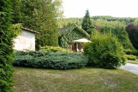 Maison à la campagne avec SPA  - Saint-Léger-la-Montagne - Huis