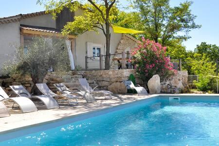 Maison avec piscine privée et une vue magnifique - Dům