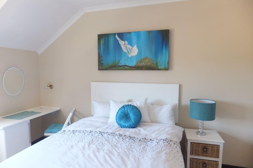 The main bedroom with en-suite