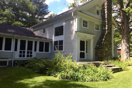 Spacious Berkshires Sanctuary with Spring-fed Pond - Ev