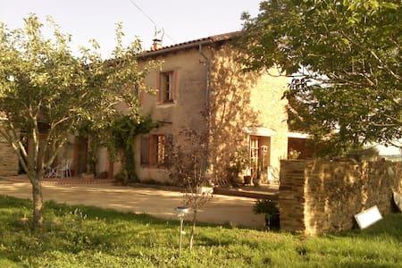 Chambres et espaces à la campagne - VILLEFRANCHE D'ALBI - House