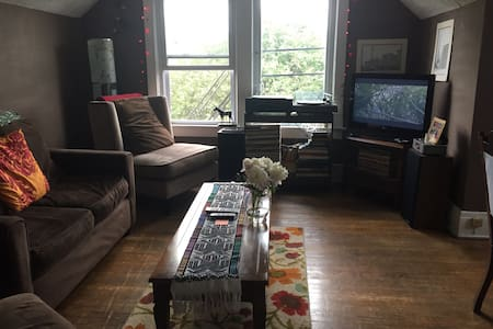 Cozy and clean in the elmwood village. - Apartamento