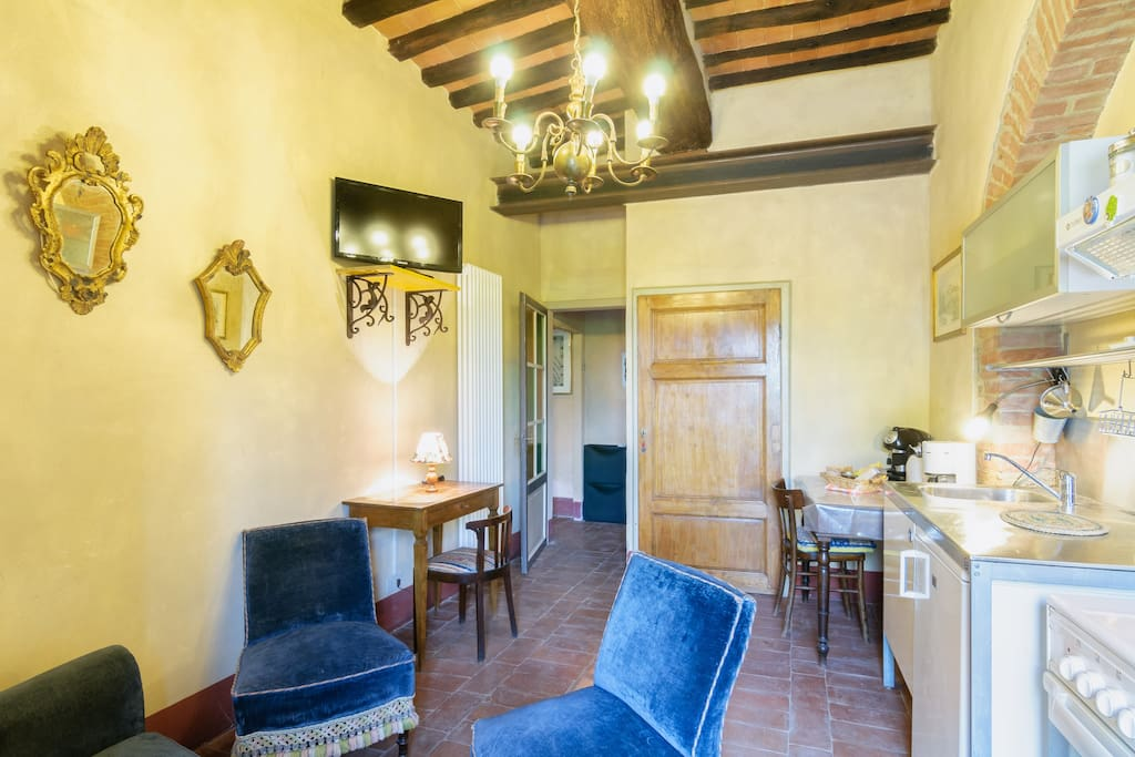 Apt in Siena's countryside, Tuscany
