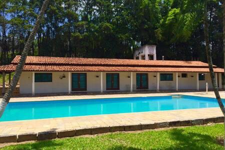Chácara em Morungaba: Amplo espaço e bela paisagem - Morungaba