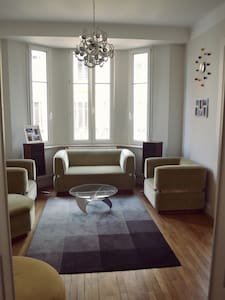 Spacious designer apartment in the heart of Metz. - Metz - Apartment
