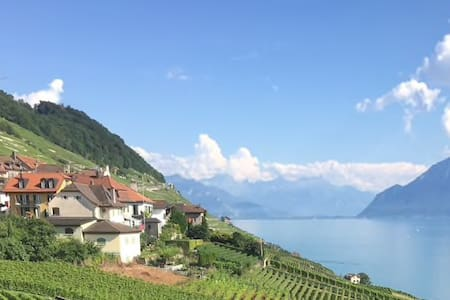 Lovely apartment with balcony 3min from Lausanne - Condominium