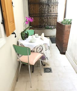 Lovely flat in the city center with private garden - House