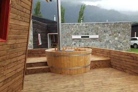 Descanso del Quijote - Locura - Lago Ranco - 小木屋