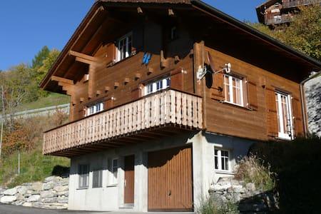 Chalet for rent in Wallis, Switzerland - Blockhütte