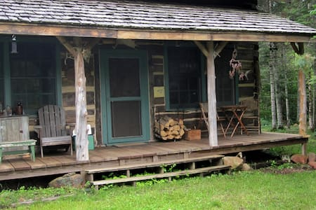 Authentic 1868 hand-hewn log cabin - Cabin