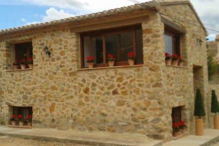 Casa de piedra, en Javea, el Montgó - Haus