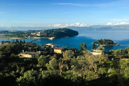 Perama Corfu, Apartments with Mouse Island view! - Apartment