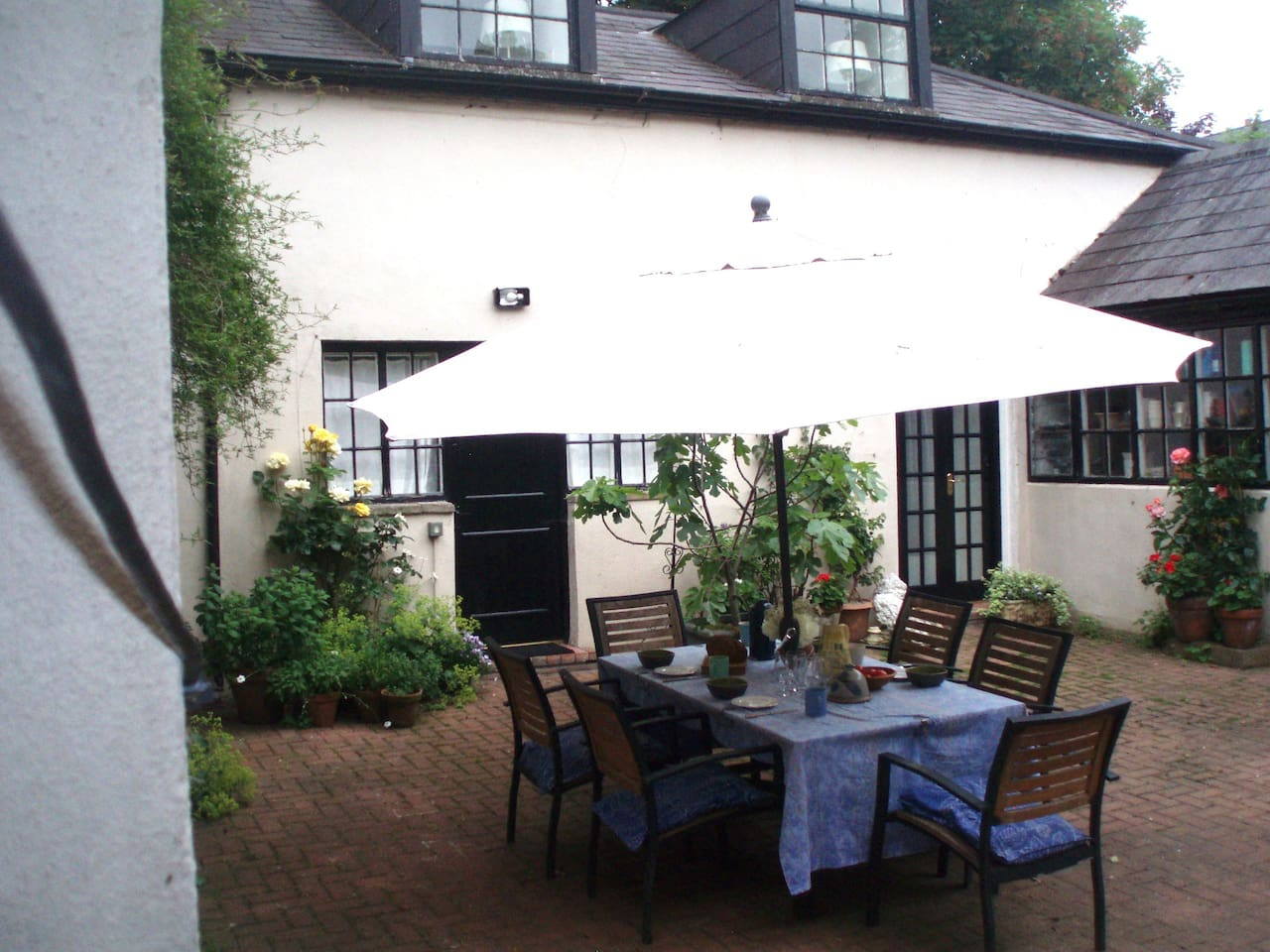 The Garden Mews in its  courtyard setting.