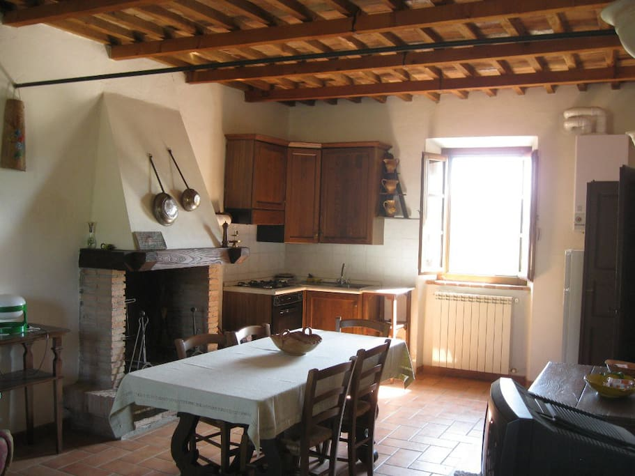 San Giuseppe Cottage: Living Room