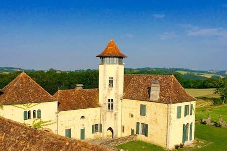 """un château """" gothique troubadour"""" - Bed & Breakfast"""