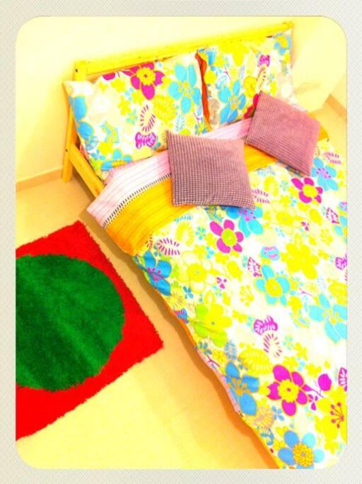 Apt B bed