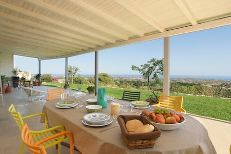 NEW Charming house, stunning view  - Sampieri - Villa